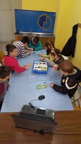Μαθήματα Ρομποτικής στο 41ο Δημοτικό σχολείο Περιστερίου
